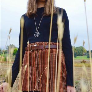 Sky and Sparrow Skirts - Corduroy Mini Skirt